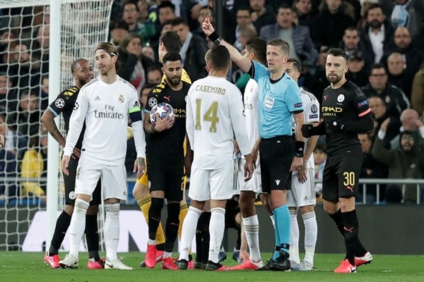 Матч Манчестер Сити — Реал отменили из-за коронавируса