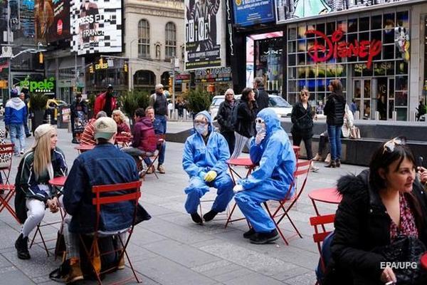 Музеи и театры Нью-Йорка закрыты