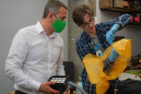 В Украине разработали защитные шлемы для врачей