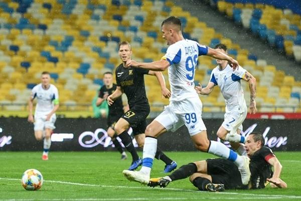 Динамо — Колос 2:1 видео голов и обзор матча УПЛ