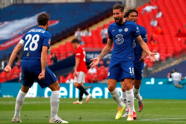 Челси обыграл МЮ на пути в финал Кубка Англии