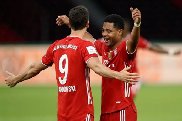 Бавария завоевала Кубок Германии