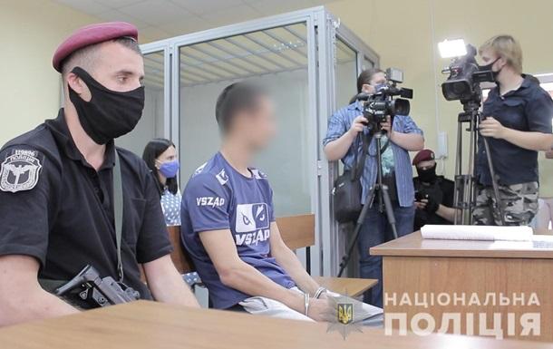 Суд арестовал трех подозреваемых в ограблении автомобиля Укрпочты