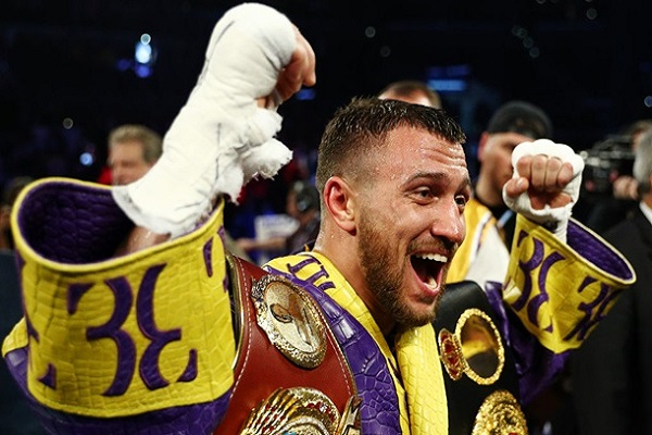 Ломаченко – лучший легковес мира по версии Boxingtalk