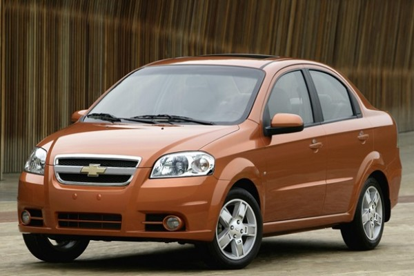 Chevrolet завершает производство модели Aveo