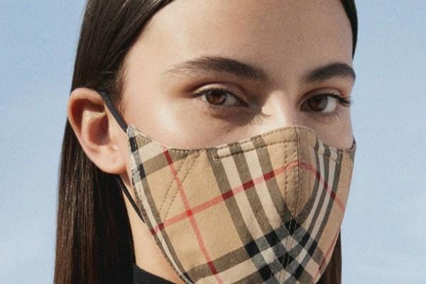 Burberry выпустили противокоронавирусные защитные маски