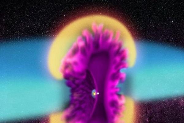 Колоссальный космический взрыв попал на фото