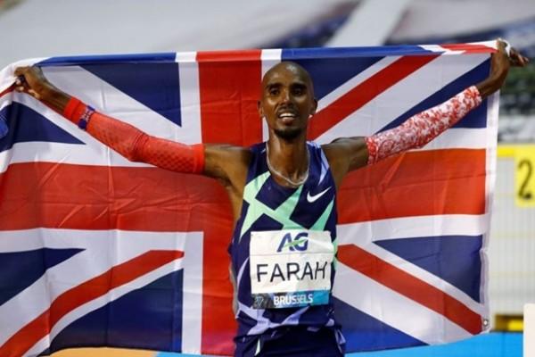 Легкоатлет Фара побил рекорд мира в часовом беге