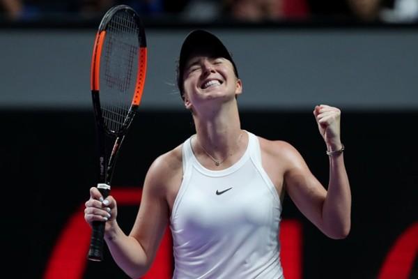 Свитолина вышла в полуфинал турнира в Страсбурге