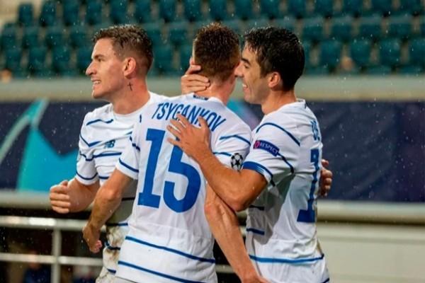 Впервые с 2015 года в группе Лиги чемпионов сыграет два украинских клуба