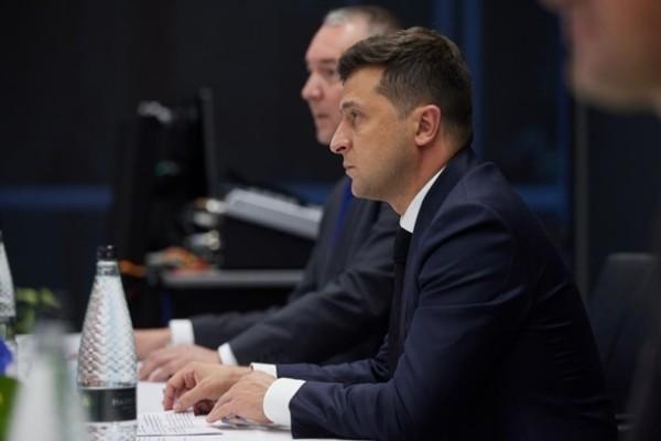 Зеленский встретился с крупнейшими инвесторами в украинские госбумаги