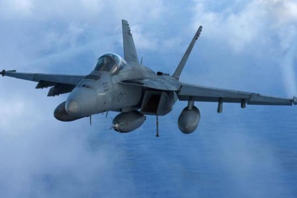 В США потерпел крушение истребитель ВМС США