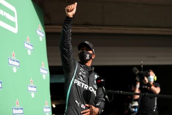 Хэмилтон выиграл квалификацию на Гран-при Португалии