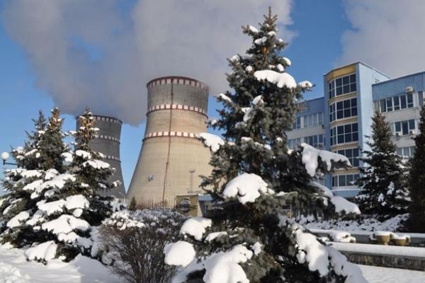 На Ровенской АЭС отключился первый энергоблок
