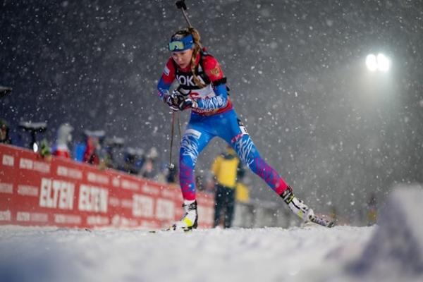 Биатлон: Павлова и Елисеев выиграли Рождественскую гонку, украинцы — девятые