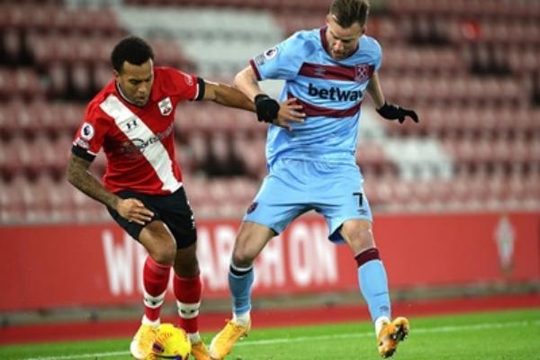 Ярмоленко — лучший среди игроков атаки Вест Хэма в матче против Саутгемптона