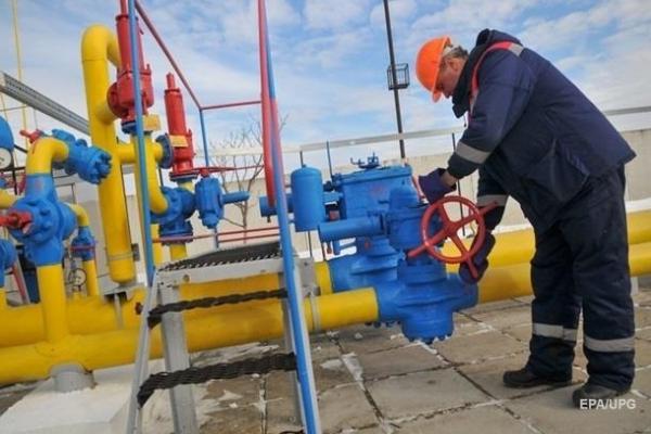 Украина за год резко сократила транзит газа