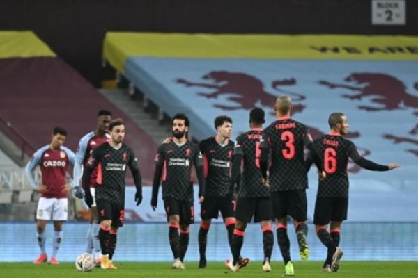 Ливерпуль разгромил Астон Виллу в Кубке Англии
