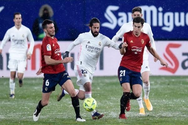 Реал неожиданно сыграл вничью с аутсайдером Ла Лиги