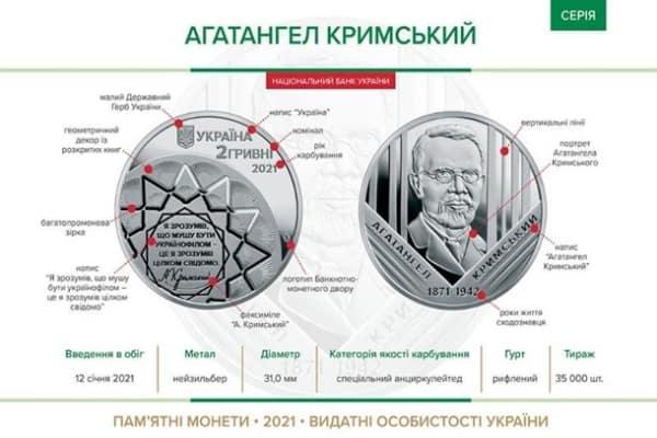 В Украине ввели в обращение новую монету