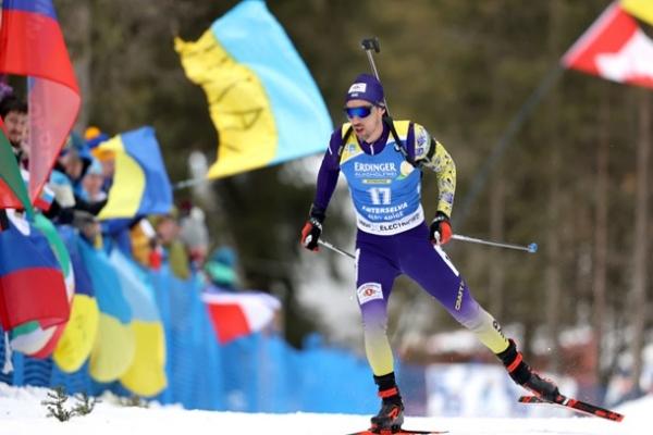 Биатлон: Прима стал чемпионом Европы в гонке преследования