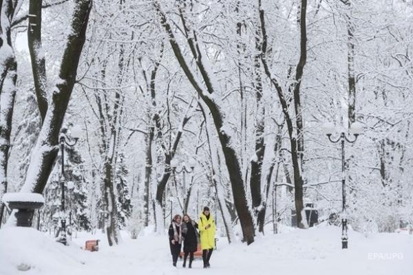 Украину засыпет снегом