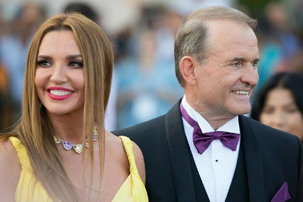 СНБО ввел санкции против Медведчука и его жены