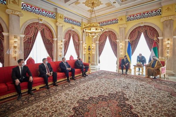 ОАЭ считают Украину надежным партнером: Зеленский встретился с шейхом Дубая