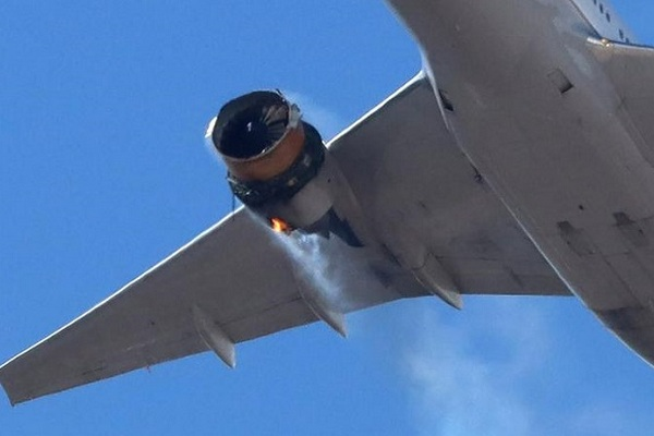 В США обломки самолета Boeing 777 упали на дом