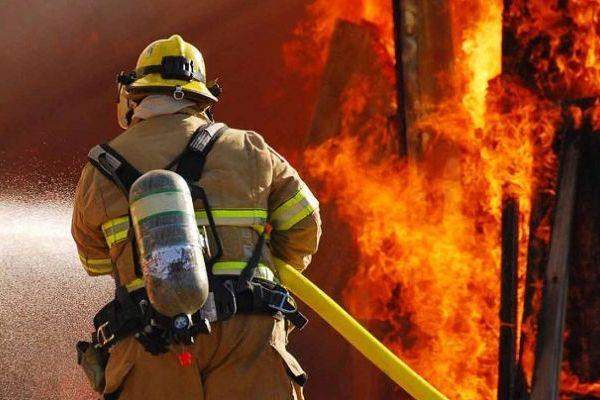 Два человека пострадало в результате пожара в сауне в Киеве