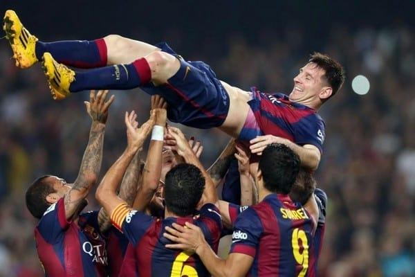 Звезды «Барселоны» устроили перепалку во время матча с «ПСЖ»