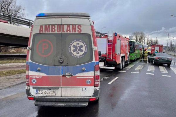 В Польше столкнулись два автобуса, пострадали более 20 человек