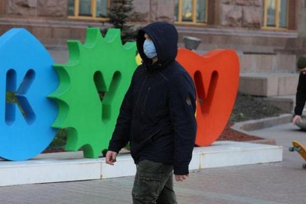 Киев – на 9-м месте в Украине по количеству воскресных случаев COVID