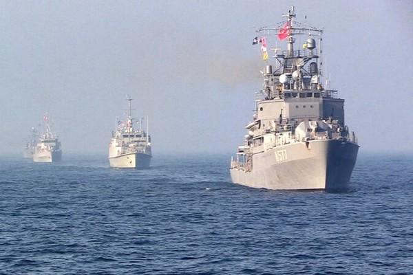 Украинские ВМС в Черном море провели совместные тренировки с противоминной группой НАТО