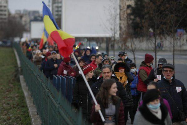 В Румынии прошли протесты против усиления коронавирусных ограничений