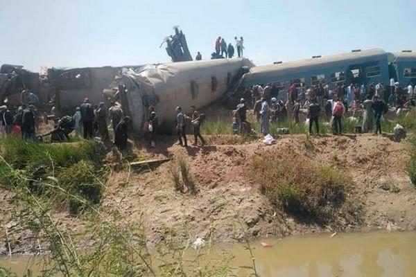 В Египте столкнулись поезда: более 30 погибших