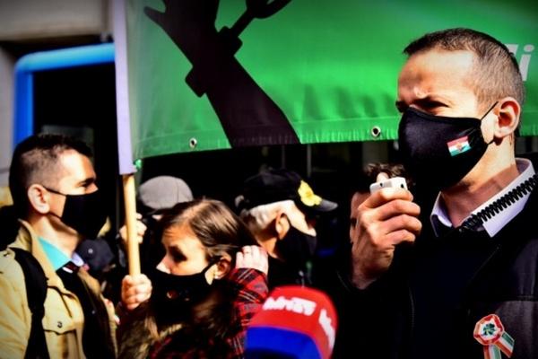 В Венгрии ультраправые требовали отменить карантин