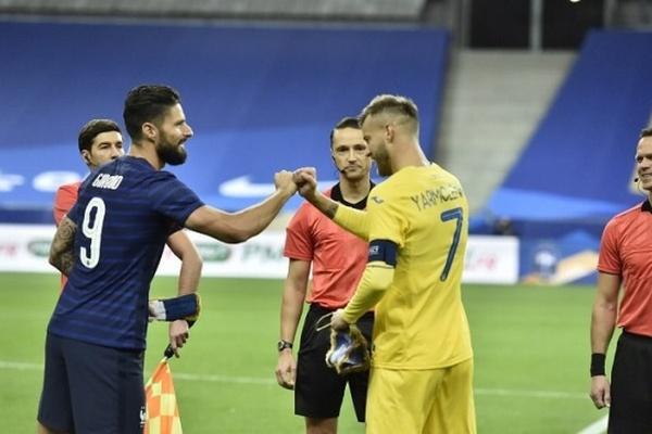 Сборная Украины матчем во Франции начинает отбор на чемпионат мира по футболу