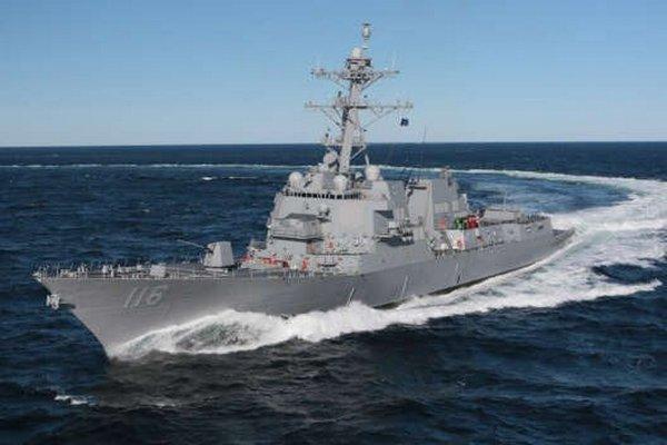 Второй за сутки корабль ВМС США с ракетами Tomahawk вошел в Черное море