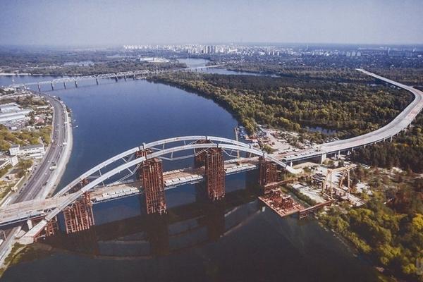 Достройка Подольско-Воскресенского мостоперехода может быть отсрочена из-за передачи объекта на баланс «Укравтодора» – КГГА