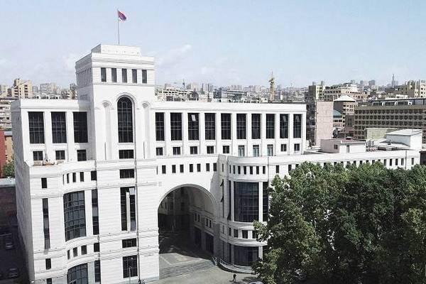 Ереван приветствует признание Байденом геноцида армян в Османской империи