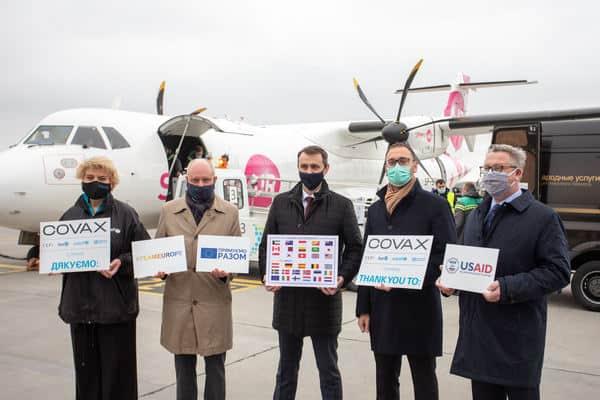 В Офисе президента поблагодарили международных партнеров за поставку вакцины Pfizer-BioNTech в Украину