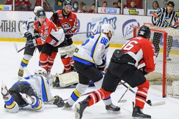 УХЛ: Донбасс во втором полуфинальном матче обыграл Днепр
