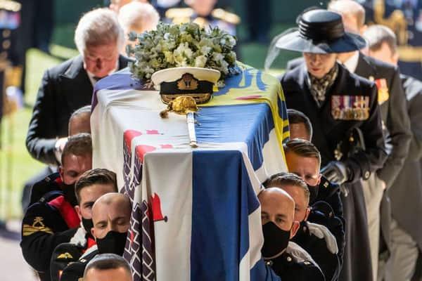 В Великобритании похоронили супруга Елизаветы II