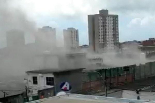 На заводе по упаковке кислорода в Бразилии произошел взрыв