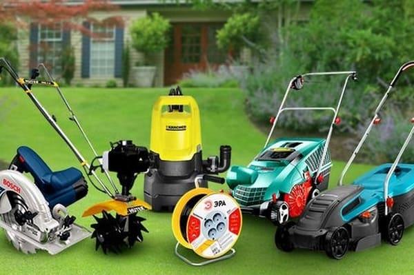 Критерии выбора садовой техники