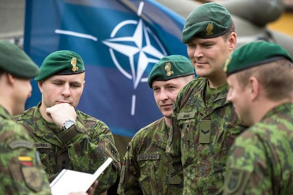 Украинские военные присоединятся к масштабным учениям НАТО