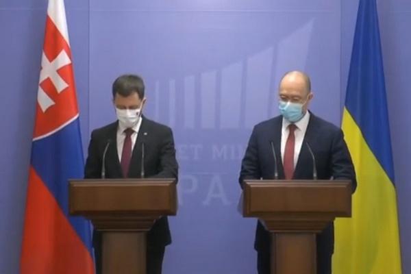 Украина и Словакия согласовали необходимость активизации двухстороннего сотрудничества — Шмыгаль