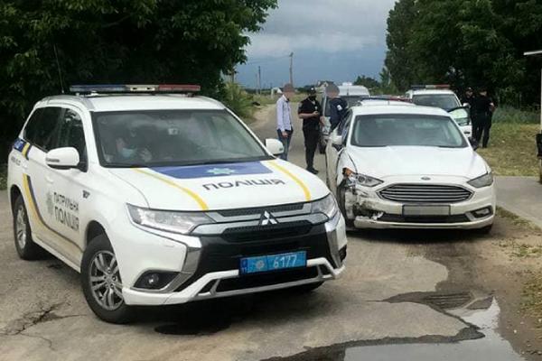 Мужчина устроил 18 ДТП и убегал от патрульных в Николаеве