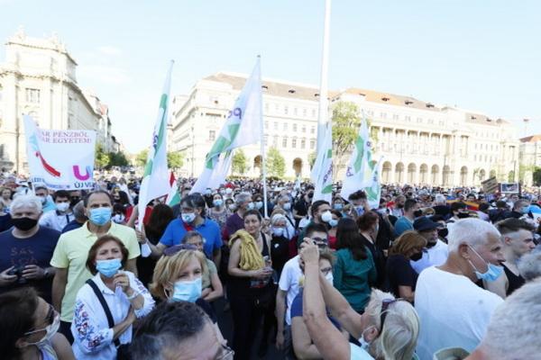 В Будапеште прошла акция против строительства китайского университета